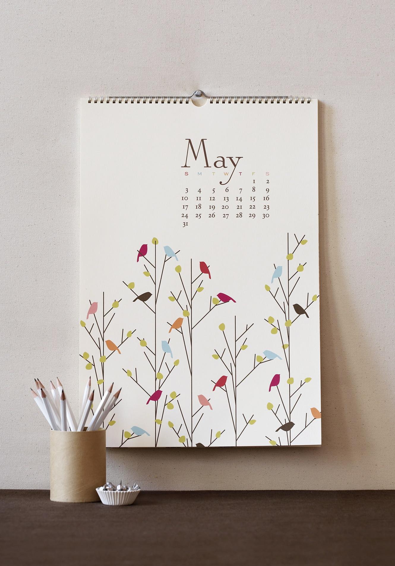 Kalender Dinding Spiral 32x48 cm - Harga Cetak Kalender 2014