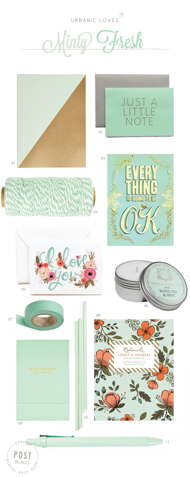 Urbanic loves : Mint